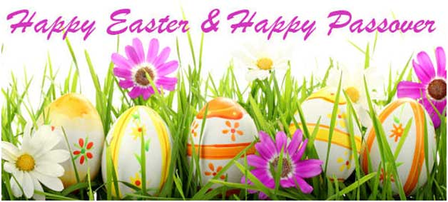Happy Easter and Happy Passover