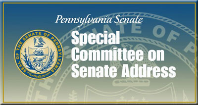 Special Committee on Senate Address