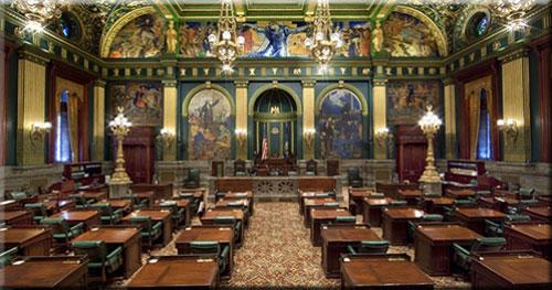 Pennsylvania Senate Chamber, Harrisburg