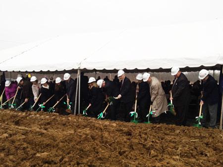 Lewisburg Area High School Groundbreaking Ceremony