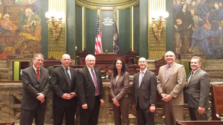Lycoming County Superintendents Visit Capitol