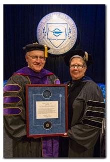 Senator Gene Yaw with Dr. Davie Jane Gilmour