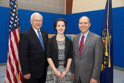 Sapphire Naugle, Senator Gene Yaw, Robb Dietrich