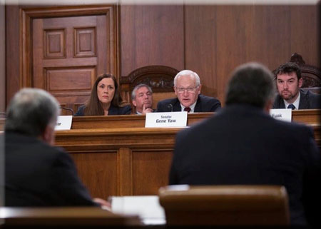 Special Committee on Senate Address Hearing