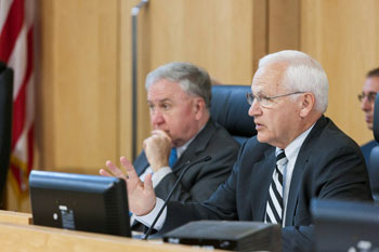 Senator Gene Yaw and Senator John Rafferty