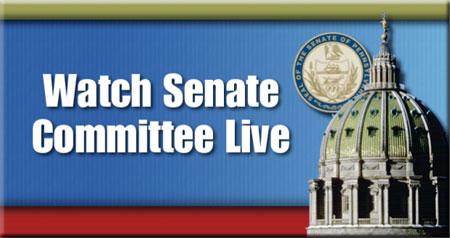Senate Committee Live Video