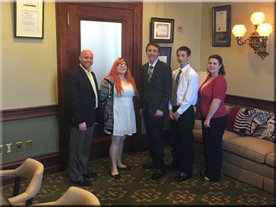 Bradford, Sullivan & Tioga 4-H Students