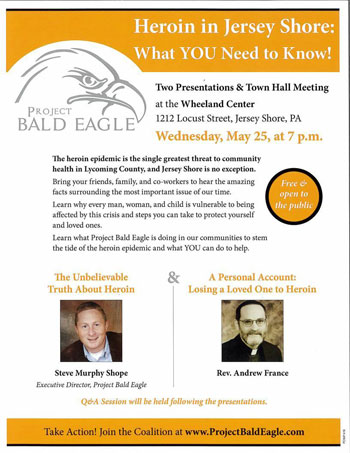 Project Bald Eagle Jersey Shore Meeting