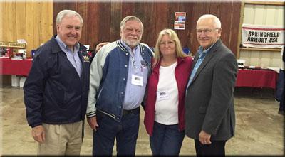 Senators Yaw &  Rafferty with Buddy & Nancy Crockett