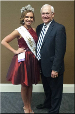 Senator Yaw with 2015 PA Coal Queen Katlyn Allison