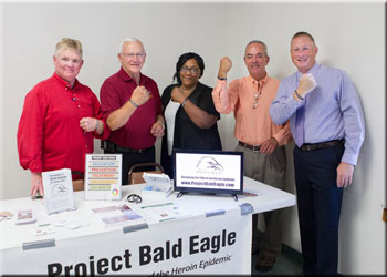 Members of Project Bald Eagle