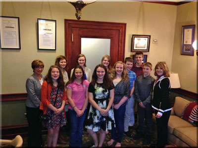Sullivan County High Students