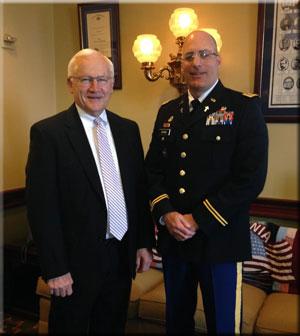 Senator Gene Yaw and Rev Joseph Adams
