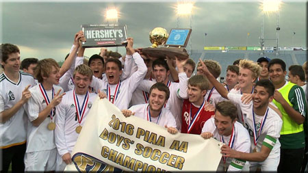 Lewisburg State Soccer Champions